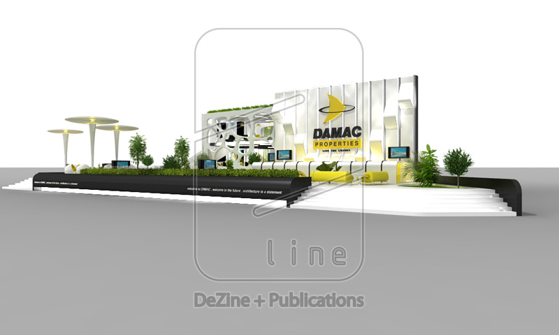 Property Exhibition Booth : Design damac properties exhibition stand at next move
