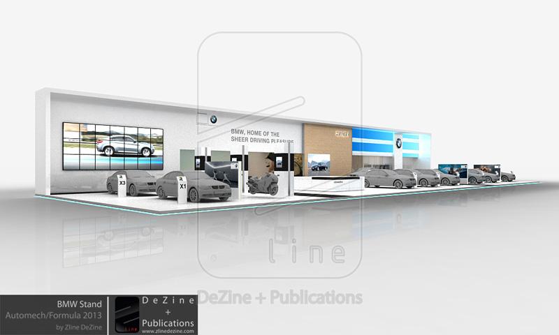 design bmw stand at automech formula 2013. Black Bedroom Furniture Sets. Home Design Ideas